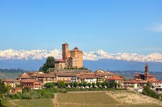 Alpenpanorama im Piemont | Nostalgic Oldtimerreisen