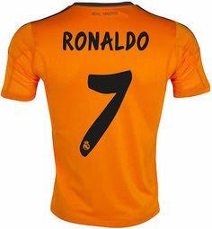 dd58d0b1d Adidas real madrid cristiano ronaldo third 3rd jersey 2013 14 la liga spain