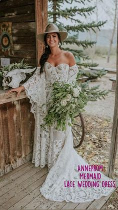 Long Gown For Wedding, Off Shoulder Wedding Dress, How To Dress For A Wedding, Wedding Gowns, Dream Wedding, Country Wedding Dresses, Bridal Dresses, Country Wedding Boots, Western Wedding Ideas