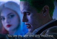 Harley Quinn and Joker were inseparable in both Arkham asylum and Gotham city ❤️ (suicide squad)