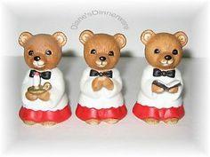 Home Interiors Bear Figurines