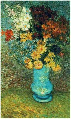 """Vincent Van Gogh                                           ♪ """"I been thinking flowers--  Maybe daisies--  To brighten up the room.  Don't you think some flowers,  Pretty daisies,  Might relieve the gloom?"""" ♪  -Mrs. Lovett"""