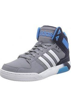 more photos b90b8 f5ebf Zapatos de hombre – Adidas BB9TIS Mid Zapatillas de deporte, Hombre, Gris    Blanco