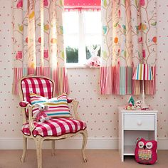 Buy Harlequin What A Hoot Pencil Pleat Blackout Lined Curtains Online at johnlewis.com