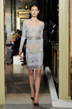 Emilio Pucci nothing like anorexia to show off a dress oh. And see through to the hilt. Why wear clothes.