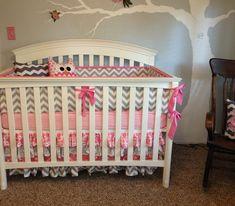 Chevron Nursery Ideas | Pink & Grey Chevron Nursery - Project Nursery