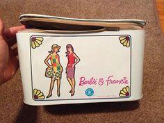 Barbie Francie Vintage 1965 Doll Carrying Case | eBay