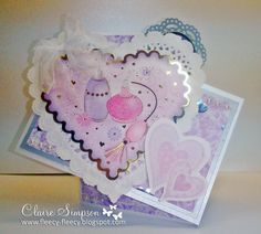 Crafter's Companion Love and Romace paper kit