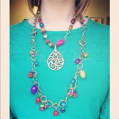 the lovelee girl: 365 - Parade Necklace and Baroque Pendant by Premier Designs Jewelry