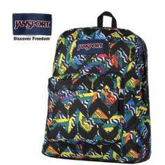 JanSport Superbreak Multi Rush Prints Backpack - Jansport backpack-Campaign Categories - TopBuy.com.au