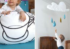 The perfect Cloud mobile Cloud Mobile, Nursery, Clouds, Mobiles, Room, Diy, Design, Home Decor, Rain
