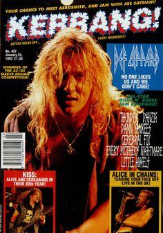 Def Leppard, Kerrang Magazine!, UK, Deleted, magazine, Kerrang!, JANUARY 23, 1993, 481583
