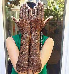 Dulhan Mehndi: Try 24 beautiful patterns - Mehndi YoYo Indian Henna Designs, Latest Bridal Mehndi Designs, Henna Art Designs, Mehndi Designs 2018, Mehndi Designs For Girls, Modern Mehndi Designs, Wedding Mehndi Designs, Dulhan Mehndi Designs, Latest Mehndi
