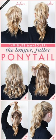 Ponytail Trick, so cool