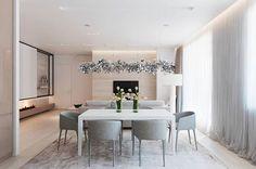 米色系的柔美公寓。 ART WORKSHOP 的公寓室內設計作品,用米色系為主軸點綴灰色和藍色素材,讓空間呈現安穩舒適的平衡色彩,很令人喜愛的公寓設計案例。 via ART WORKSHOP