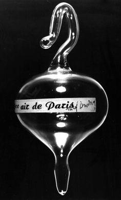 SOUVENIR of PARIS :: Duchamp's 50 cc of Paris Air - 1919