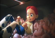 """Toy Story of Terror Snapshots """"Jessie never gives up! Jessie finds a way!"""""""