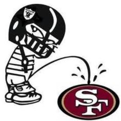 Oakland Raiders piss on San Francisco lol for you uncle ray Oakland Raiders Memes, Raiders Pics, Raiders Stuff, Oakland Raiders Football, Raiders Baby, Nfl Oakland Raiders, Okland Raiders, Giants Football, Raiders Emblem