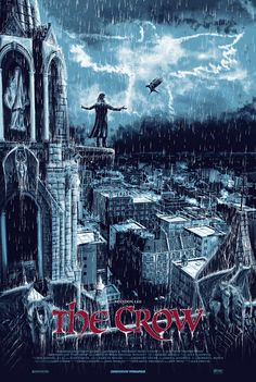 The Crow - movie poster - Chris Skinner