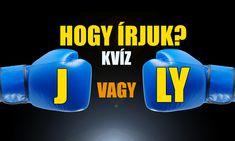 Tudod hogy írjuk helyesen? J vagy LY? KVÍZ #Címlap #Kvízek #helyesírás_kvíz #helyesírás_teszt Logos, Logo