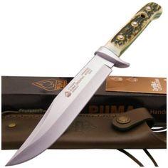 Puma 116396 Genuine Staghorn Bowie Hunting Knife 440C | MooseCreekGear.com | Outdoor Gear — Worldwide Delivery! | Pocket Knives - Fixed Blade Knives - Folding Knives - Survival Gear - Tactical Gear