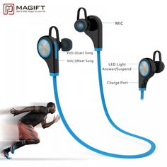 Magift6 Sports Bluetooth Wireless Headphones  Price: 25.72 & FREE Shipping  #bluetooth|#tech|#electronics|#gadgets