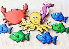 LilaLoa: Under The Sea Cookies