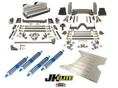 JK Elite Coilover Suspension Kit (4 Door) | GenRight Jeep Parts