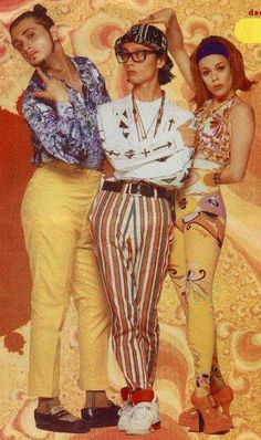 Deee-lite, grew up with this band, still love their catchy, poppy, trippy, electro-funk sound