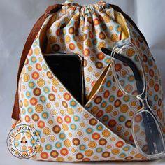 Hobby di stoffa by Hdc: Sacchetto cris-cros