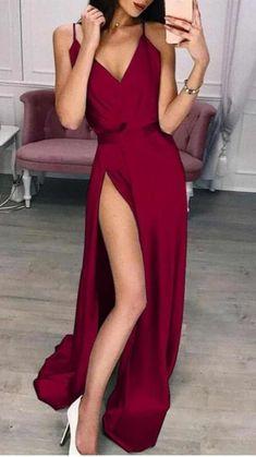 Gala Dresses, Prom Dresses Blue, Satin Dresses, Homecoming Dresses, Evening Dresses, Formal Dresses, Red Prom Dresses, Maroon Prom Dress, Red Bridesmaid Dresses