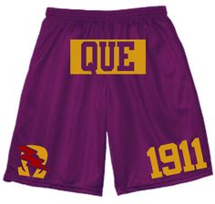 Omega Psi Phi Fraternity Jersey Shorts by ShirtScreeners on Etsy