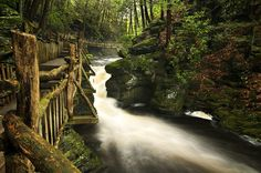 Canyon Path, Bushkill Falls, Pennsylvania | The Best Travel Photos