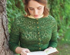 Ravelry: Kellynch Cardigan pattern by Kathleen Dames Lace Patterns, Knitting Patterns, Librarian Chic, Cardigan Pattern, Garter Stitch, Couture, Jane Austen, Lady, Knit Crochet