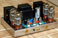 Building stereos from a kit was popular in the 1950s, 1960s and 1970s. Dynaco was one if the most popular. This ST-70 stereo amplifier was so successful that today a cottage industry exists to repair and upgrade them as well as make new ST-70 amplifiers from new kits. It's the most imitated vacuum tube amplifier today.