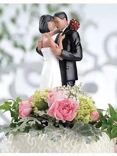 Resin topper of bride and groom dancing Wedding Reception Planning, Wedding Groom, Bride Groom, Wedding Ceremony, Wedding Ideas, Wedding Decor, Wedding Stuff, Wedding Cake Designs, Wedding Cake Toppers