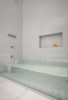 As a kid, this would have been the perfect tub to be a Mermaid in!      Designed by: Stern McCafferty
