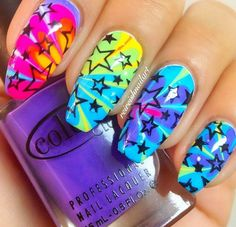 ☆☆☆☆ || colorful nails