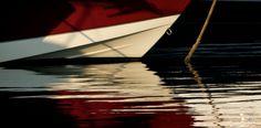 Waterline| H Hugh Miller  #photography #water #boat #anchored #refletion #sea #art #artwork #artist