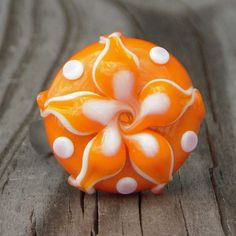 Interchangeable lampwork ring or pendant topper by beadaddicts