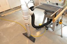 How to Build a Workshop Dust Management System