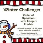 This free worksheet is more challenging than it looks! The students use a decoder to determine the value of each letter in a particular winter-them...