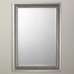 Buy John Lewis Annabelle Wall Mirror, Silver Online at johnlewis.com