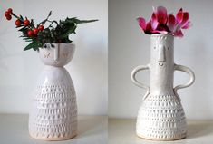 Faces on Vases: Atelier Stella
