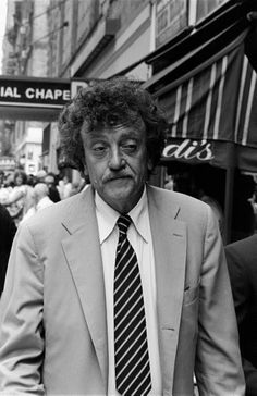 Kurt Vonnegut, (Photo, 1981). Kurt Vonnegut, Jr. was a 20th-century American writer. His works such as Cat's Cradle, Slaughterhouse-Five, and Breakfast of Champions blend satire, gallows humor, and science fiction.