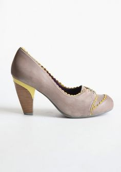 I dont think I could walk in this heel. On the other hand, with shoes this pretty, who needs to walk anywhere? $97.99