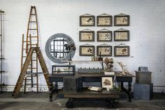 20+ Clever Ways to Decorate with Collections - Safe Keeping