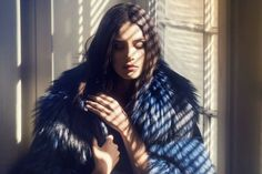 Fox Fur, Editorial Photography, Saga, Jon Snow, Brown Hair, Editorial Fashion, Fur Coat, Furs, Jackets