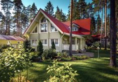 """Swedish Home"" model – Wooden family home from Finland"