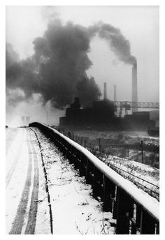 Perfect World, Dark Side, Railroad Tracks, Vintage Photos, Poland, Black And White, Landscape, History, Industrial